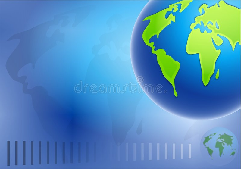 Download Fond de globe illustration stock. Illustration du configurations - 80517