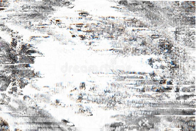 Fond de gradient avec l'effet de problème, modèle universel photos stock