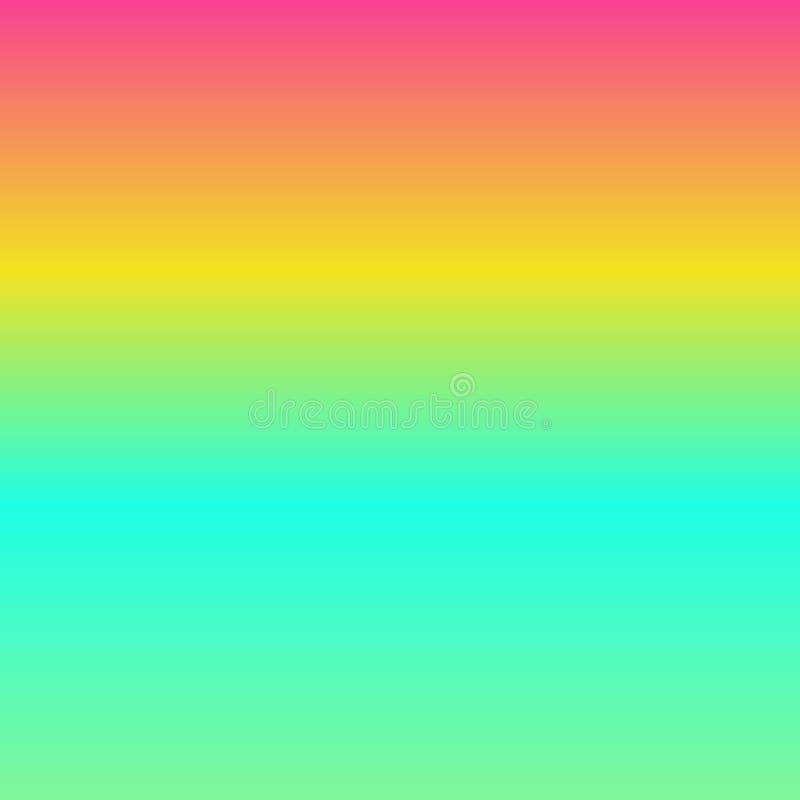 Fond de gradient du rose, jaune, bleu illustration libre de droits