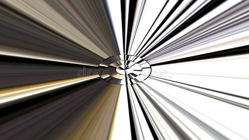 Fond de graphiques de mouvement géométrique illustration de vecteur