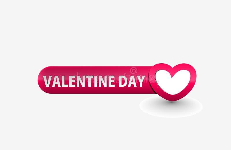 Fond de graphisme de jour de Valentines illustration stock