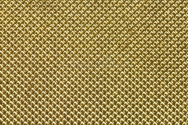 Fond de grille d'or image libre de droits