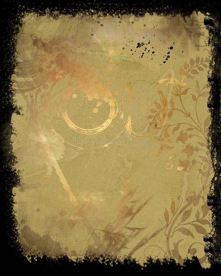 Fond de grunge d'Abstrct illustration de vecteur