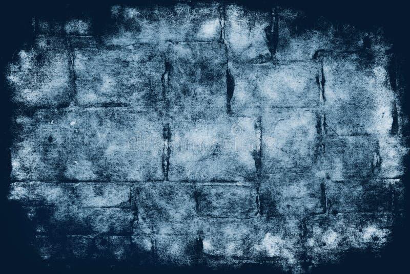 Fond de grunge de brique illustration de vecteur