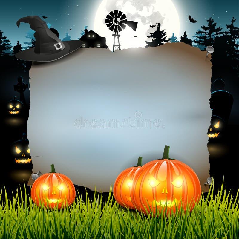Fond de Halloween illustration de vecteur