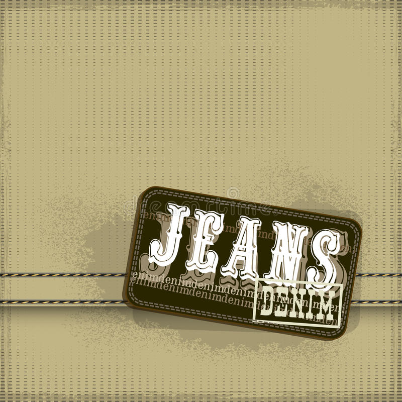 Fond de jeans illustration stock