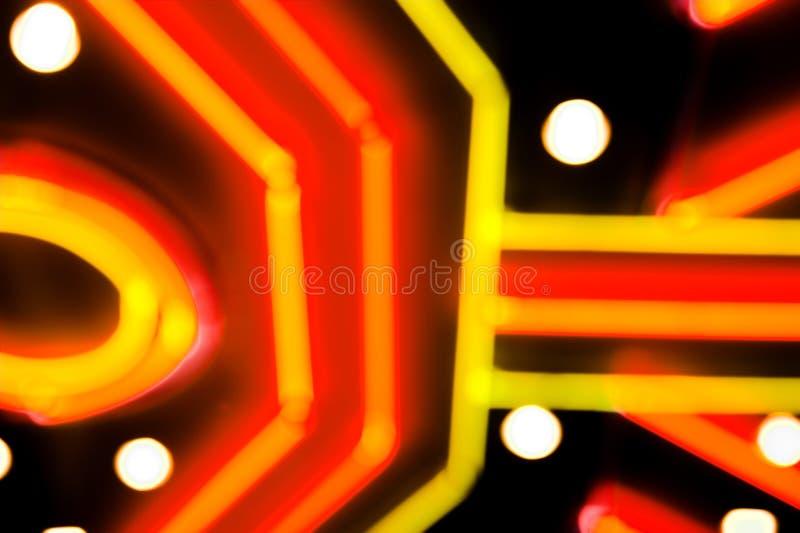 Fond de jeu de néon photos stock