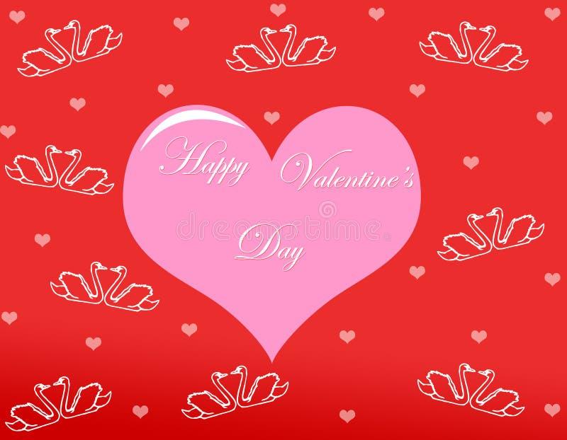Fond de jour de Valentine images libres de droits