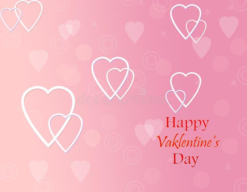 Fond de jour de Valentine photos libres de droits