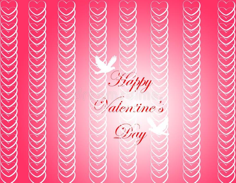 Fond de jour de Valentine photo libre de droits