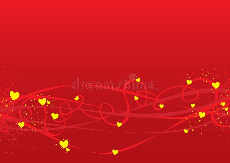 Fond de jour de Valentines illustration libre de droits