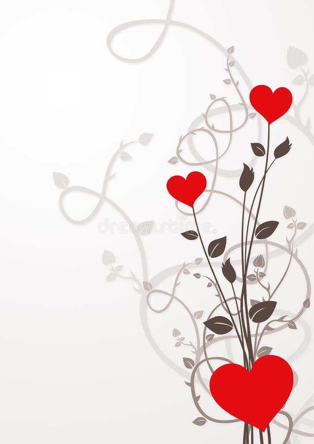 Fond de jour de Valentines illustration stock