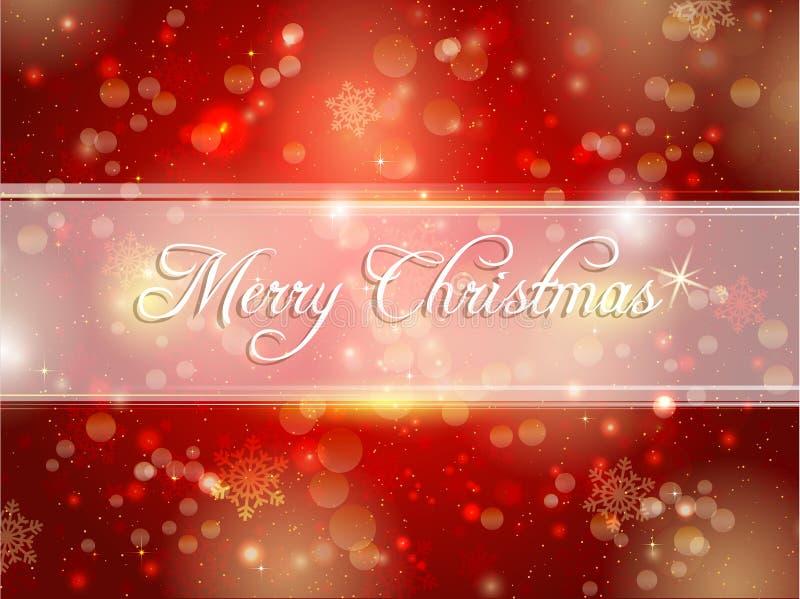 Fond de Joyeux Noël illustration stock