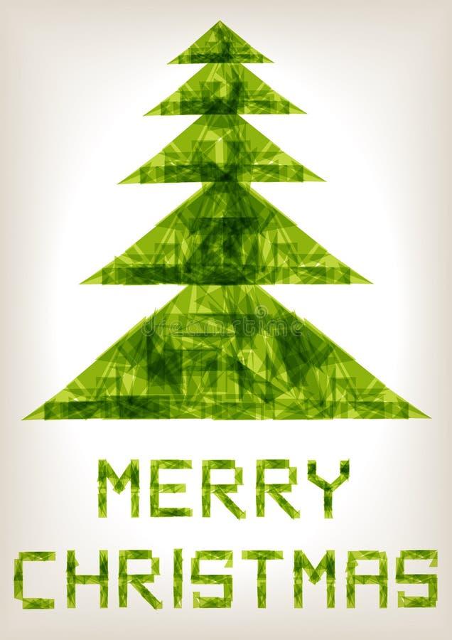 Fond de Joyeux Noël illustration de vecteur