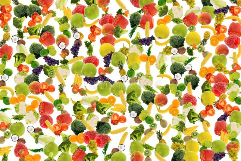 Fond de légume et de fruit images libres de droits