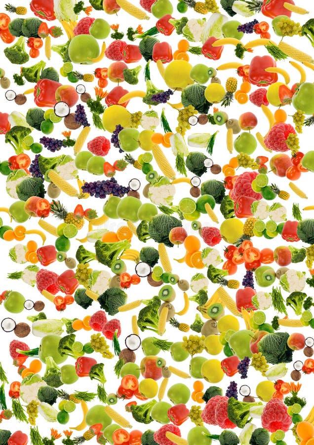 Fond de légume et de fruit images stock