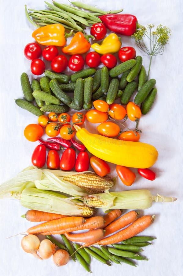 Fond de légumes photographie stock