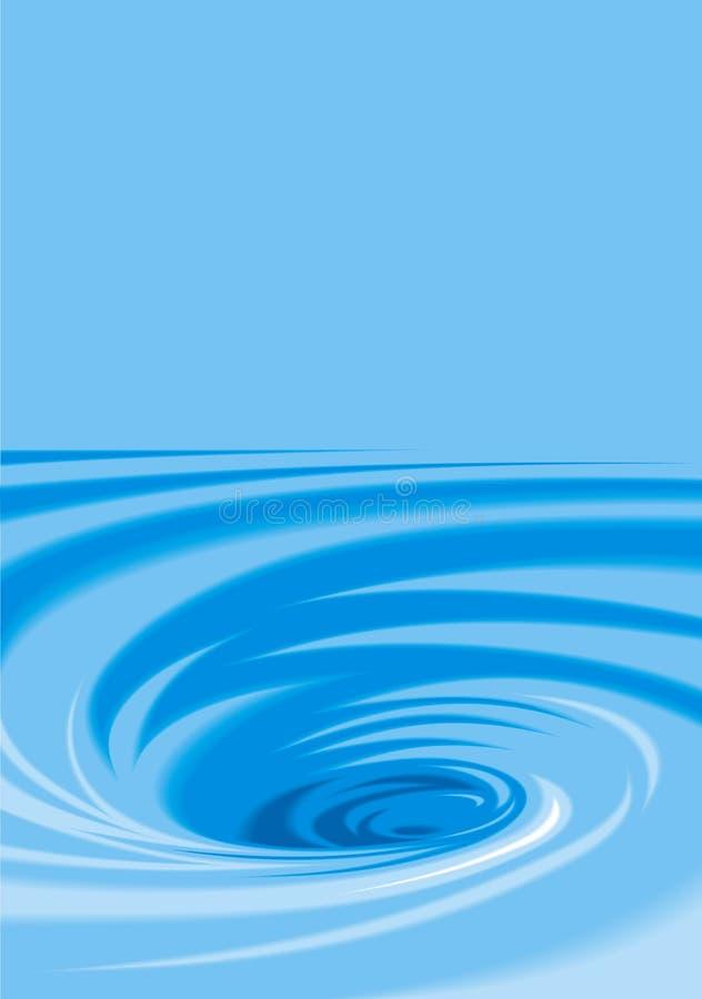 Fond de l'eau illustration de vecteur