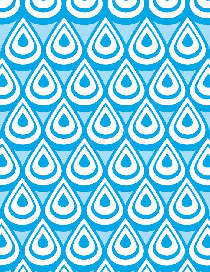 Fond de l'eau    illustration stock