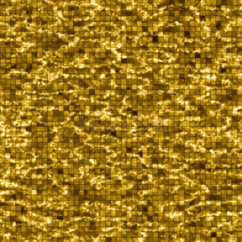 Fond de l'eau de piscine d'or illustration stock