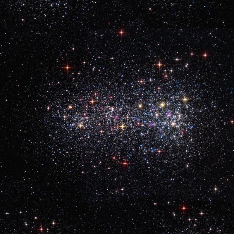Fond de l'espace avec les étoiles lumineuses photo libre de droits