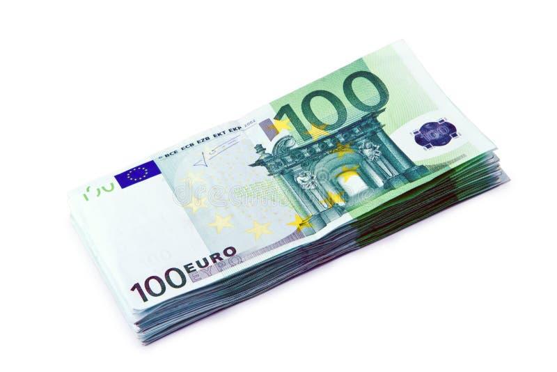Euro argent photographie stock