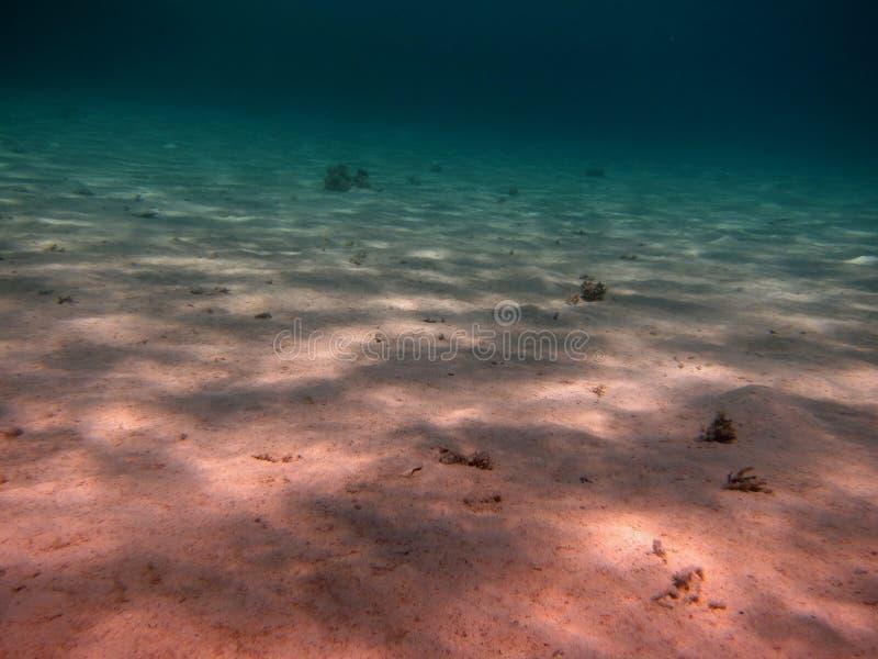 Fond De La Mer Du Sable Image stock