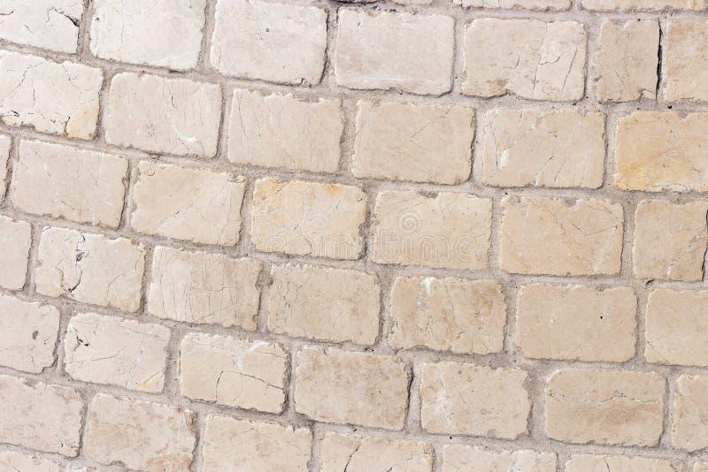 Fond de la photo en pierre de texture de trottoir photos libres de droits