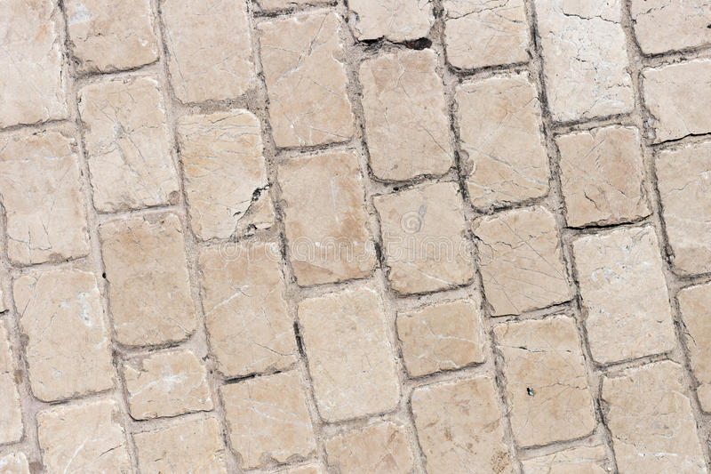 Fond de la photo en pierre de texture de trottoir photos stock