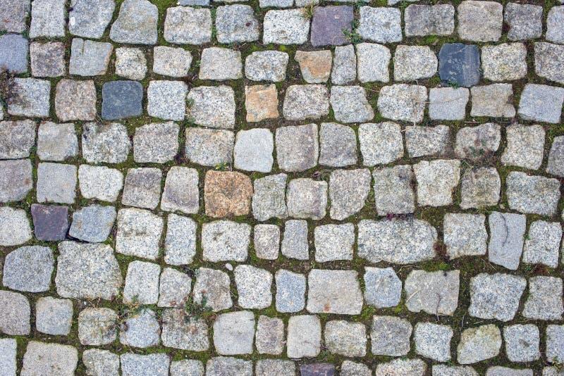 Fond de la photo en pierre de texture de trottoir image stock