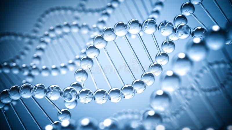 Fond de la science d'ADN image libre de droits