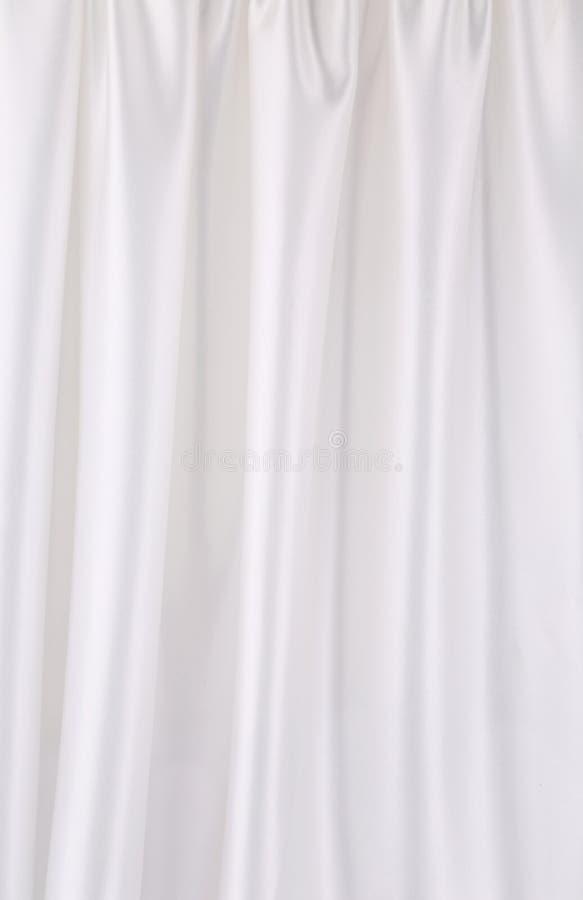 Fond de la soie blanche. photographie stock