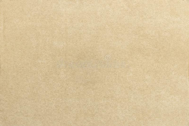 Fond de la surface de texture de papier brun, rétro abstraits et images libres de droits