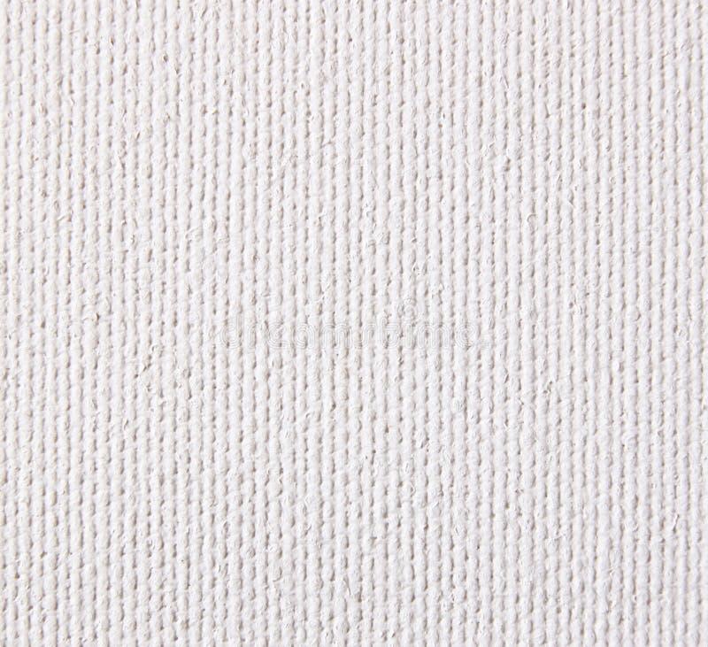 Fond de la texture brute blanche de toile Recherche élevée photographie stock libre de droits
