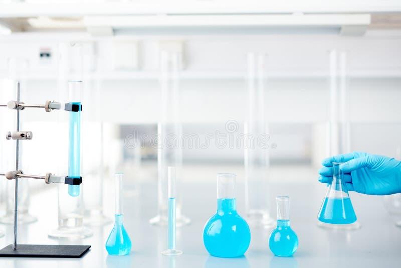 Fond de laboratoire de la Science images stock