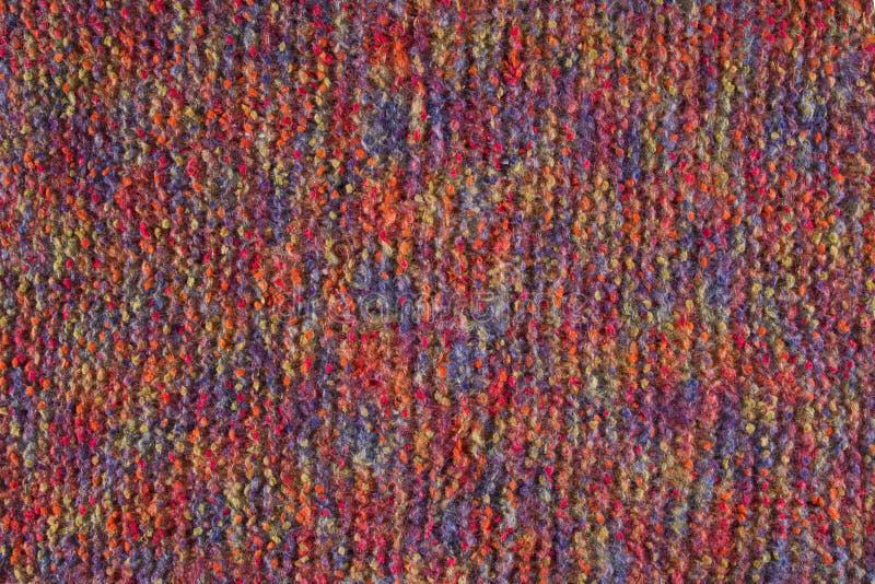 Fond de laine de texture, tissu tricoté de laine, textile velu images libres de droits