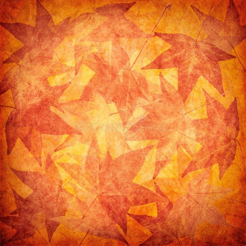Fond de lame d'automne illustration de vecteur