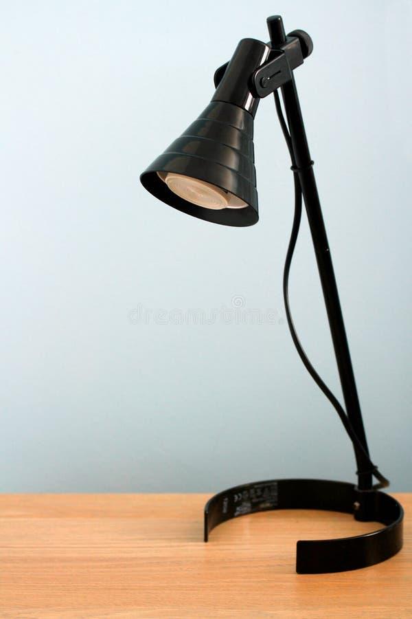 Fond de lampe de bureau photographie stock libre de droits