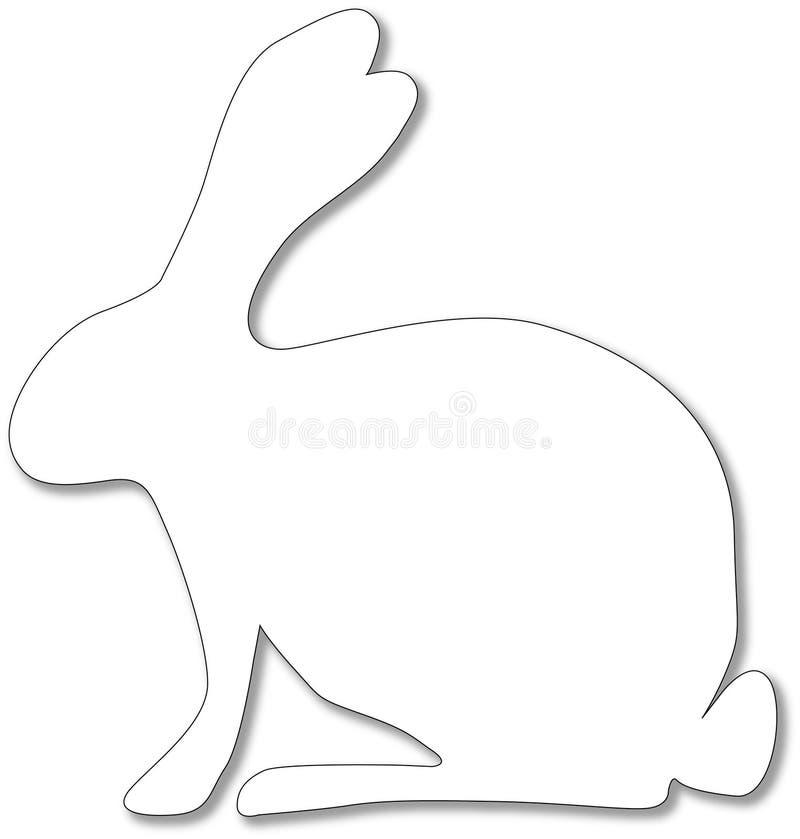 Fond de lapin de Pâques illustration de vecteur
