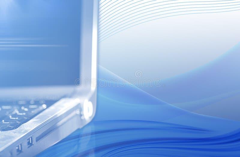 Fond de Laptot photo stock
