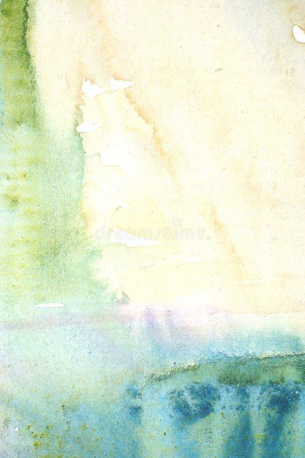 Fond de lavage d'aquarelle photographie stock libre de droits