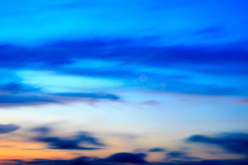 Fond de lever de soleil, lumière de début de la matinée, le naturel image libre de droits