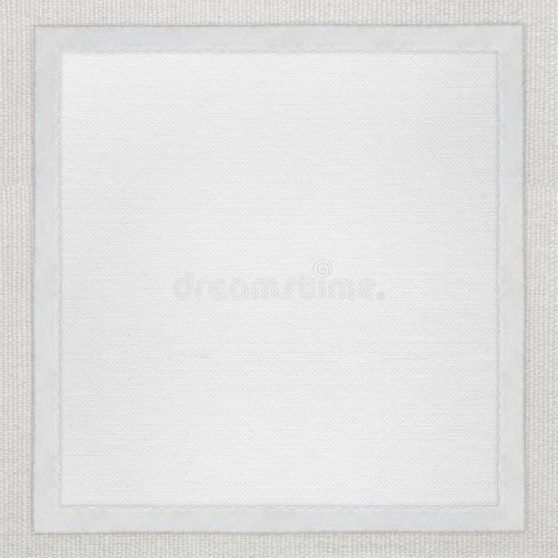 Fond de livre blanc dans la trame blanche photographie stock libre de droits