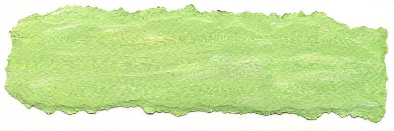 Fond de Livre vert avec les bords déchirés illustration de vecteur