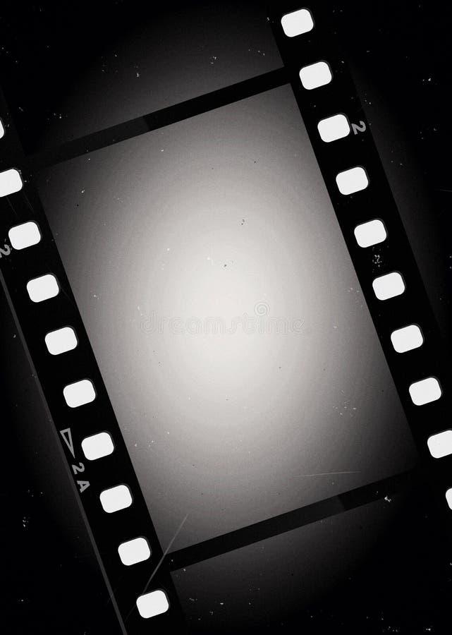 Fond de lumière de film de films illustration stock