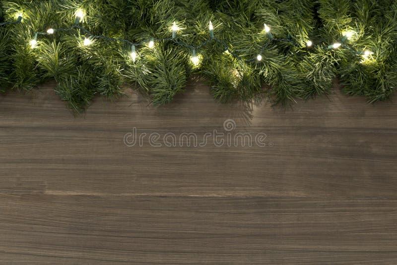 Fond de lumière de Noël image libre de droits