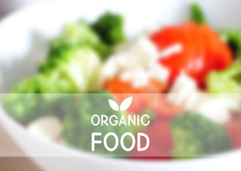 Fond de maille d'aliment biologique illustration libre de droits