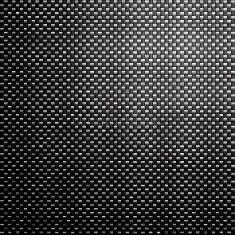 Fond de maille de fibre de carbone illustration libre de droits