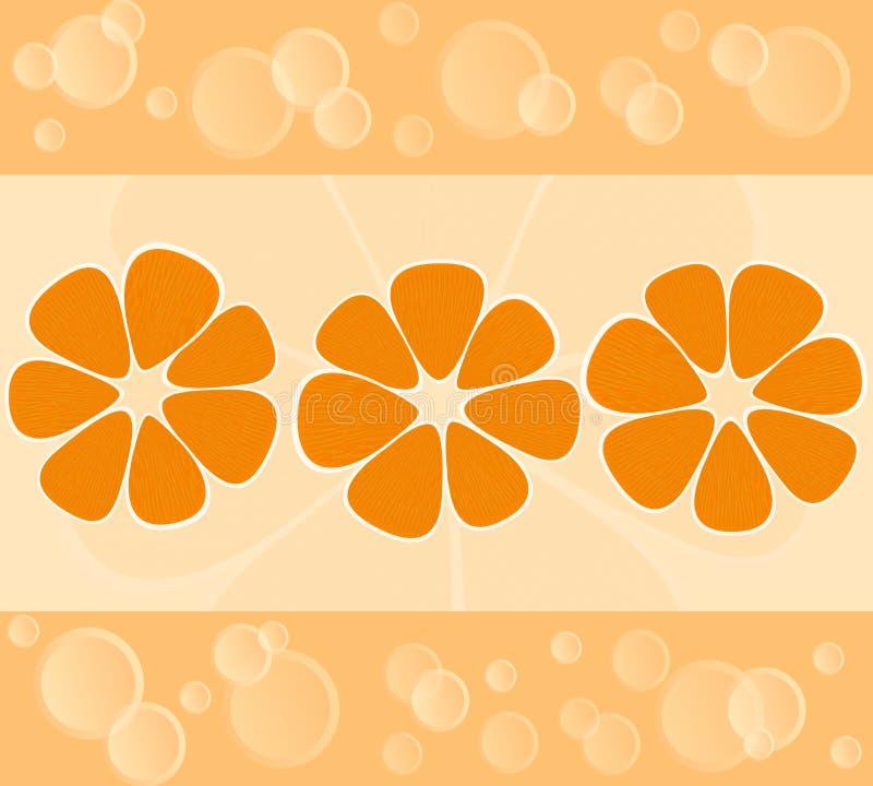 Fond de mandarine illustration libre de droits