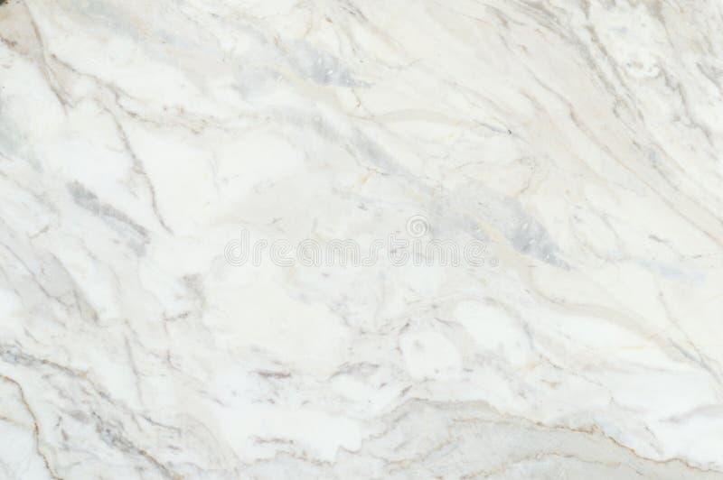 Fond de marbre blanc de texture, marbre véritable détaillé de nature photos stock